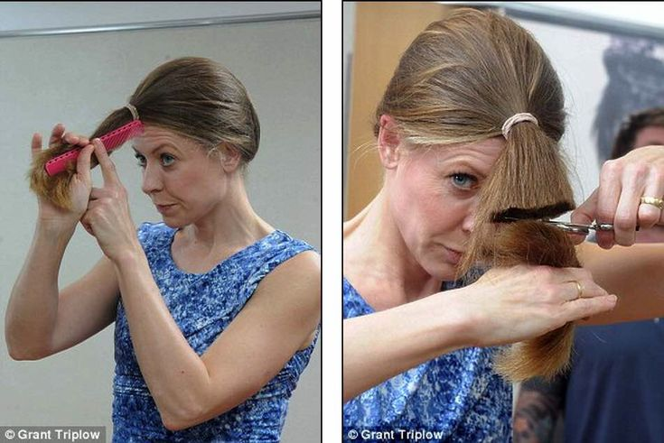 Haare selber schneiden: So klappt es zu Hause ohne Friseur