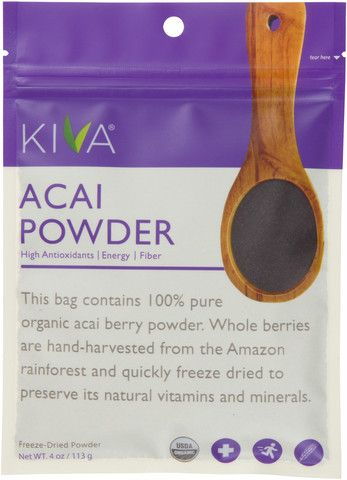 Acai berry is known to have high levels of antioxidants, omega fatty acids, and fiber. It is also an excellent source of vitamin A, vitamin C, calcium, and other essential trace minerals!