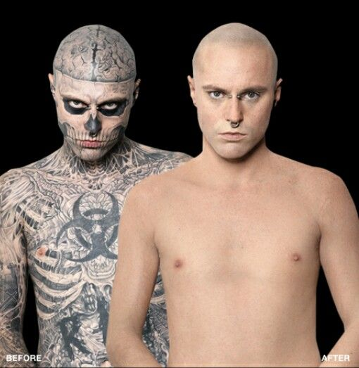 Dermablend beyond the cover rico the zombie pinterest for Dermablend tattoo cover up video