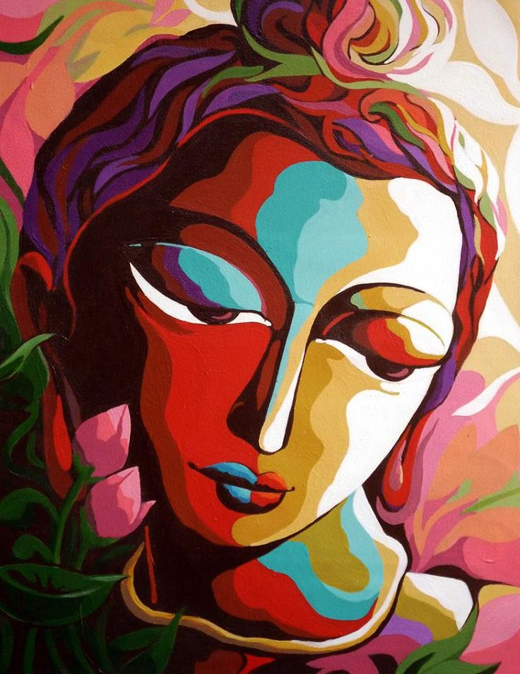 abstract paintings of indian artists - Google Search