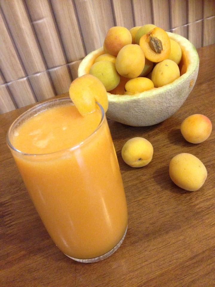 Muskmelon Peach Punch - Summer Cooler