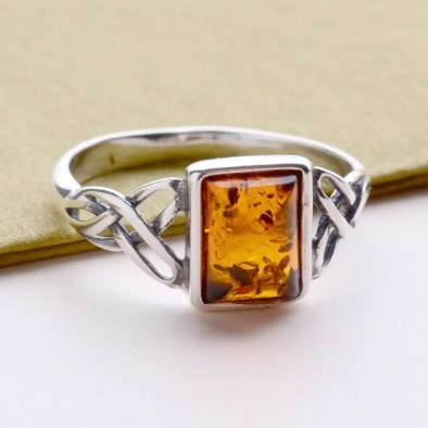 Amber ring ~ one of my favorite stones, always has been.