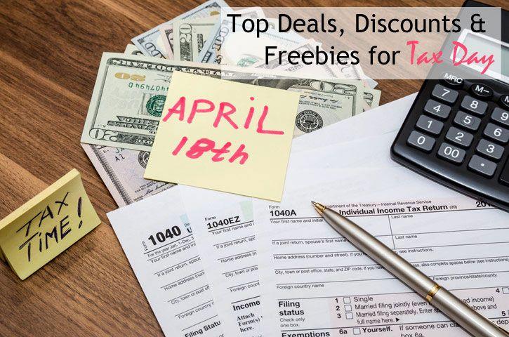 Tax Day Deals, Discounts & Freebies   Coupon Sherpa