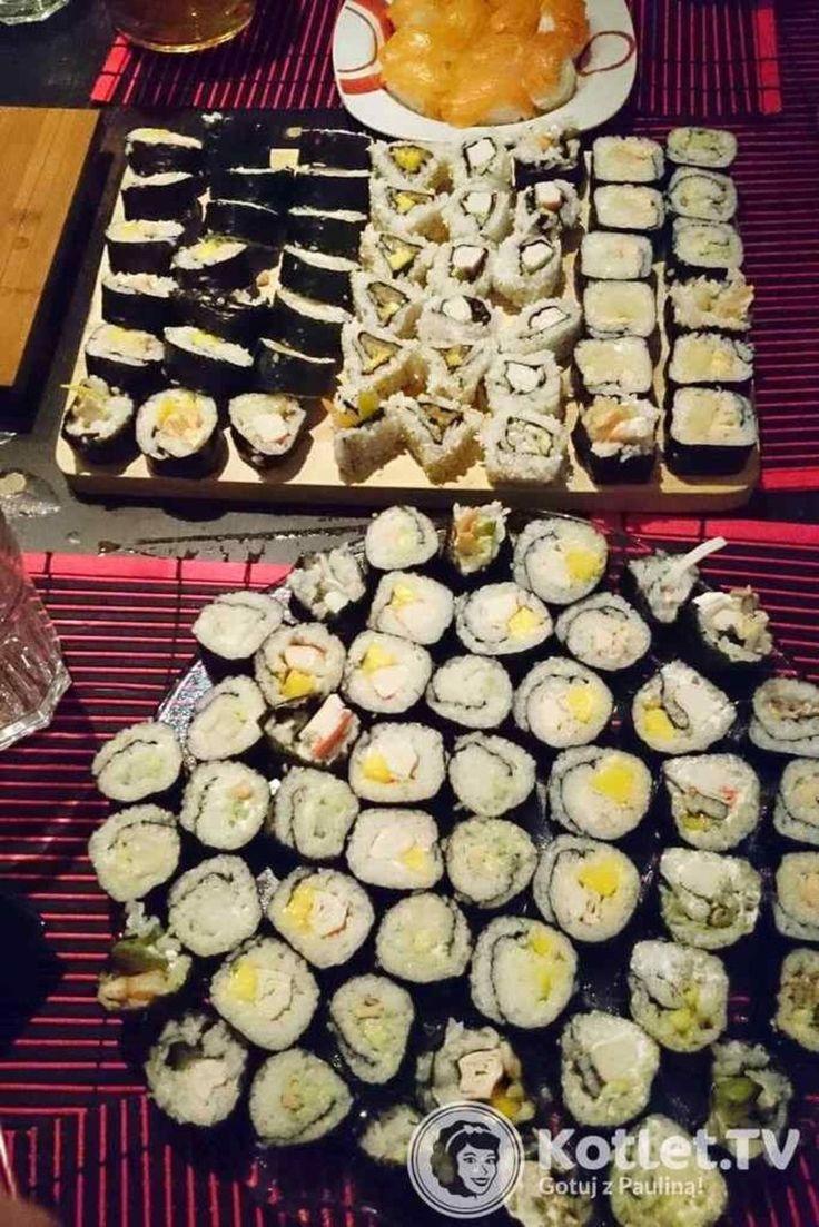 Kolejny stół z sushi