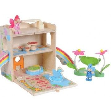Tiger Tribe - Wooden Boxset Fairy House . This is just too much fun for a fairy lover!#entropywishlist#pintowin