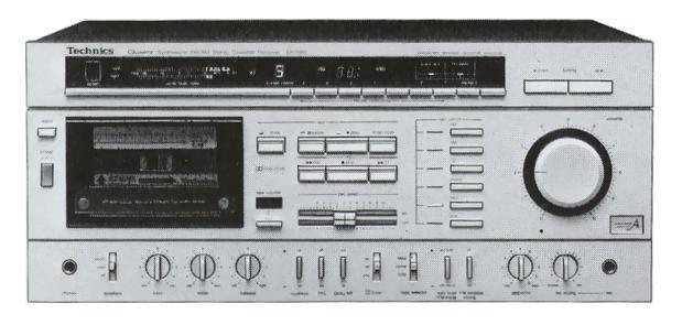 Technics SA-R80 (launched 1982)