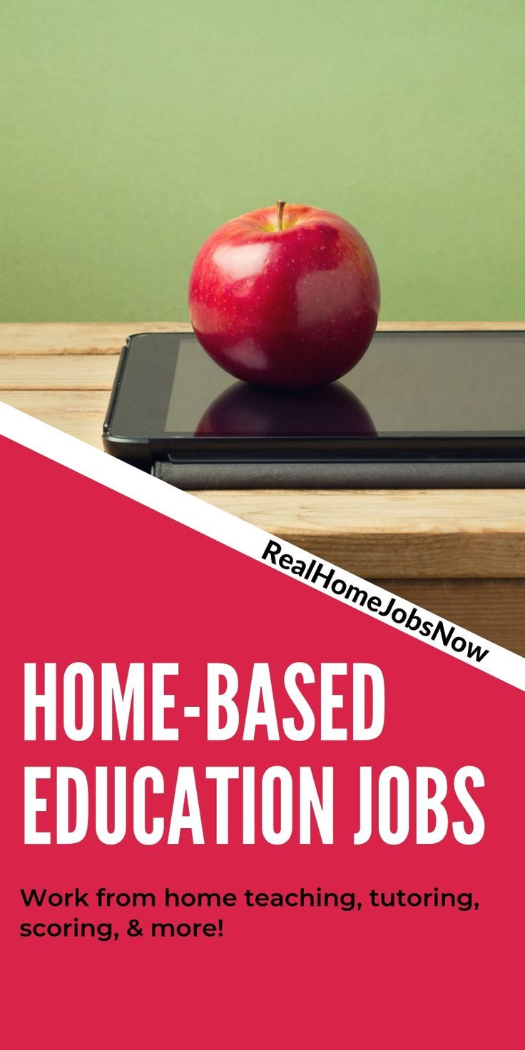 Work From Home Education Jobs Education jobs, Online