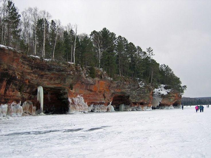 Ледяные пещеры озера Верхнее - Путешествуем вместе