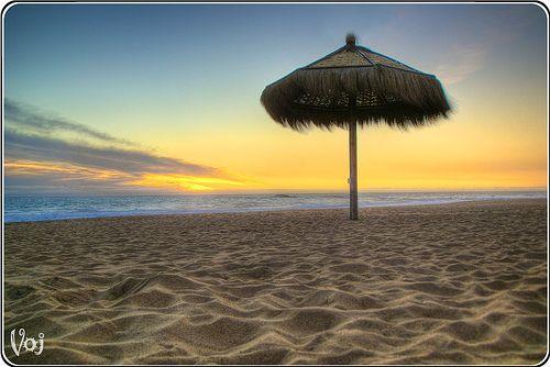Reñaca en Invierno - Winter Reñaca Beach, Viña del Mar, Chile