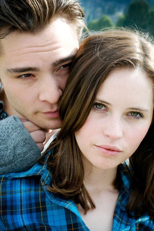 "Ed Westwick Felicity Jones Chalet girl / ""powder girl"""