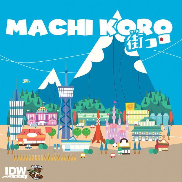 Machi Koro - Card Game 6.7/10
