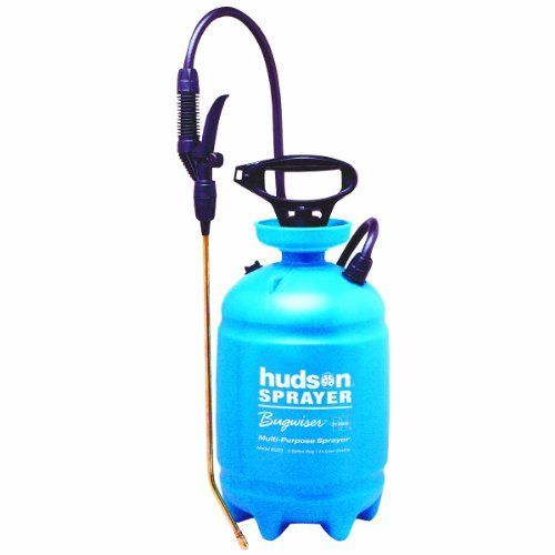 Hudson 65223 Bugwiser 3 Gallon Sprayer Poly by Hudson. $45.99. Kem-Oil braided power sprayer-style hose--our most chemical resistant. Stable 6-foot tank with large funnel top. HPP High Performance Pump with comfort grip, glove-sized handle. Locking pressure-release valve.. Strong curved Brass 18-inch spray wand. Brass cone nozzle--adjusts from fine mist to long distance stream. Poly Thrustless on-off valve with in-line filter and Viton--the most comfortable in the ...