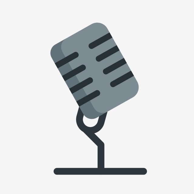 Base Microphone Cartoon Microphone Gray Microphone Illustration Microphone Microphone Clipart Singing Microphone Ktv Singing Microphone Png And Vector With T Microphone Drawing Identity Card Design Camera Illustration