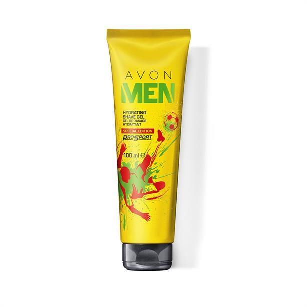 Avon Men hidratáló borotválkozózselé különleges kiadásban - AVON termékek