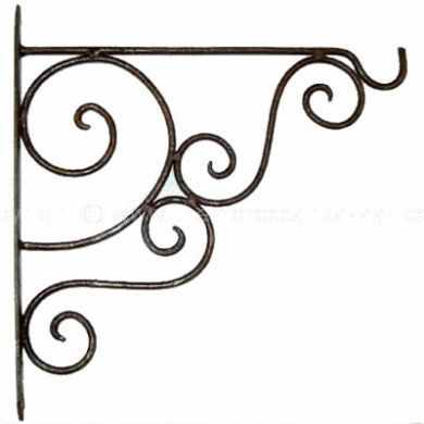 Moroccan Wall wrought Iron Brackets