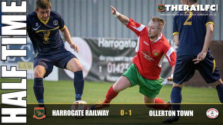 HT: Harrogate Railway 0-1 Ollerton Town     @therailfc @Ollertontown_fc @edwhite2507
