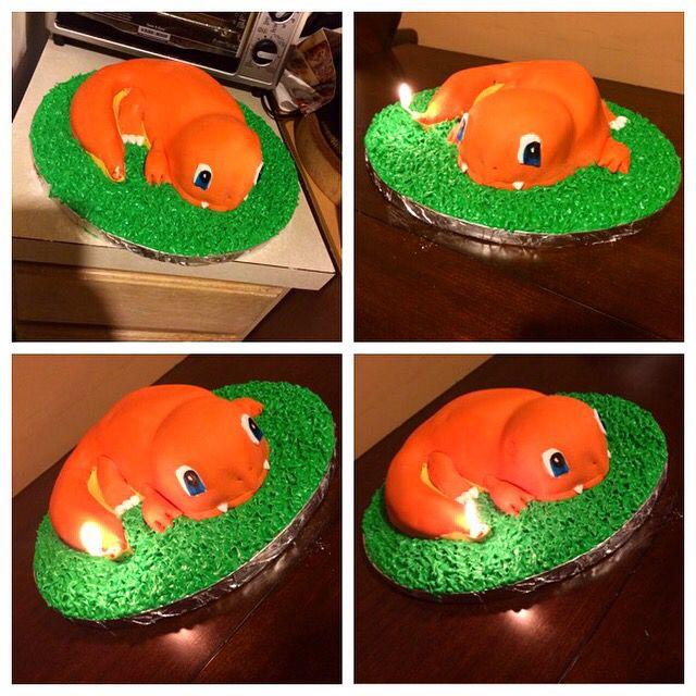 Charmander Cake Cakes Cookies Cupcakes Cake Cupcake