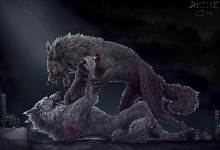 Werewolf fight by Drelteo on DeviantArt | apocalypse ...