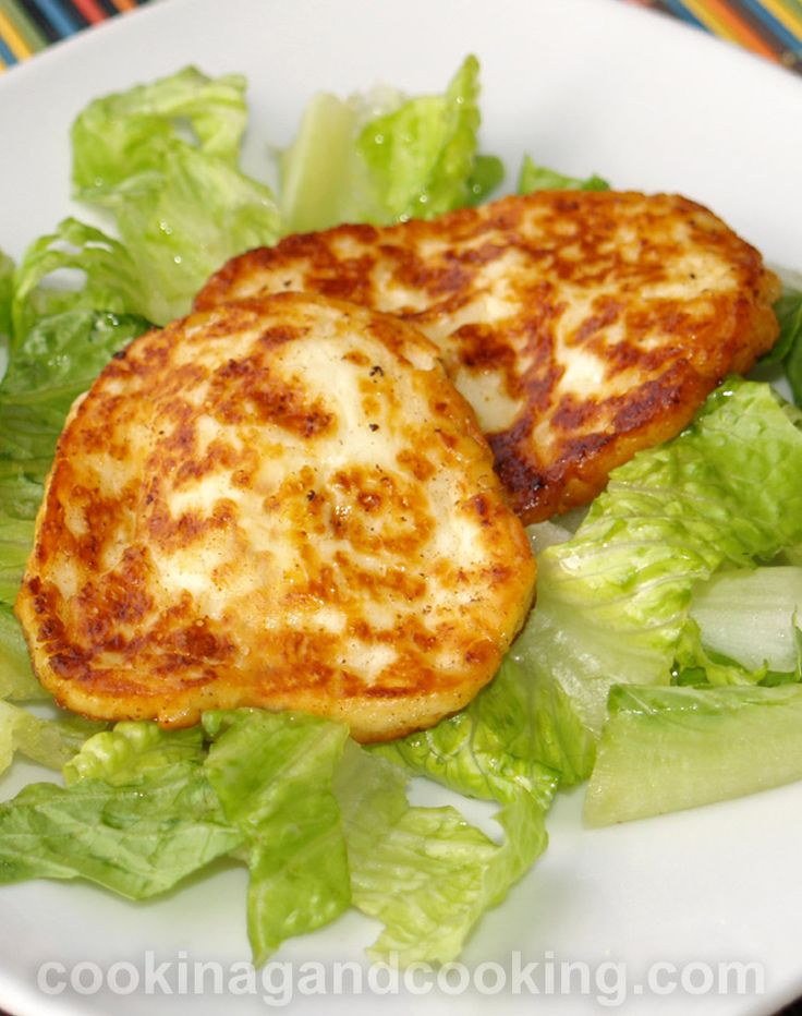 how to make vegetarian halloumi