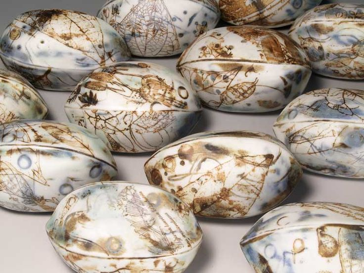 multi layered prints on porcelain Mollie Bosworth   visualartist.info