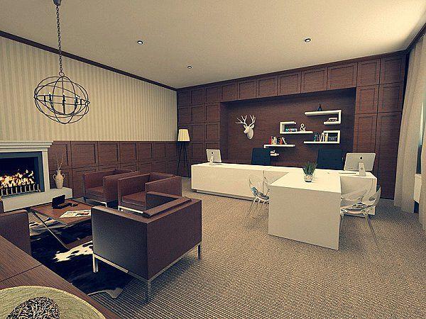 Office vintage urban style - Arcada.sk