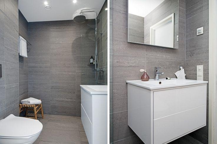 Картинки по запросу серая плитка ванная