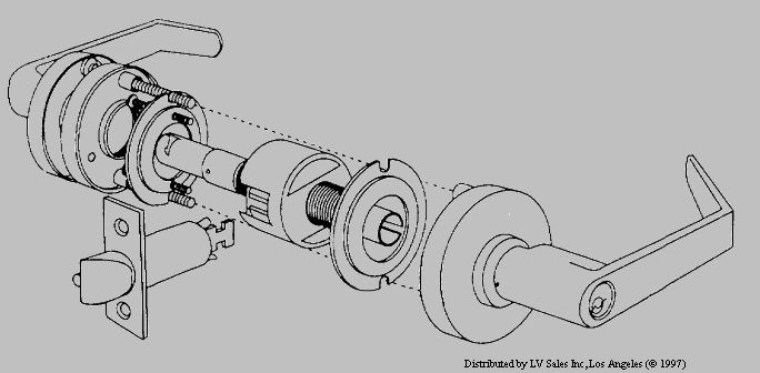 yale 8000 mortise lock parts diagram