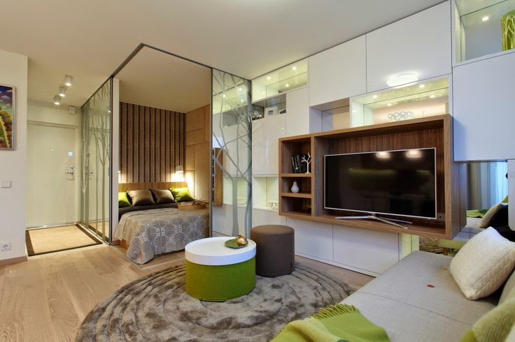 Дизайн однокомнатной квартиры: Фото однокомнатных квартир
