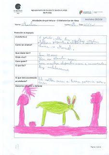 Biblioteca da Escola E.B. 2,3 do Pinhão: atividades dos alunos do 2º ano- como será o elefante?