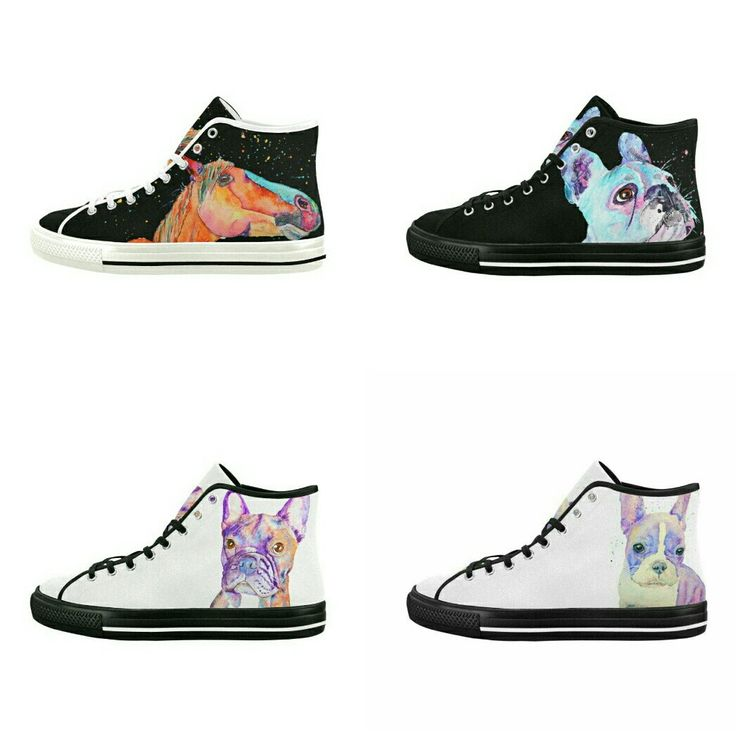 Some of the great Hi tops I've been adding to the store in the past few days all featuring my original artwork ☺