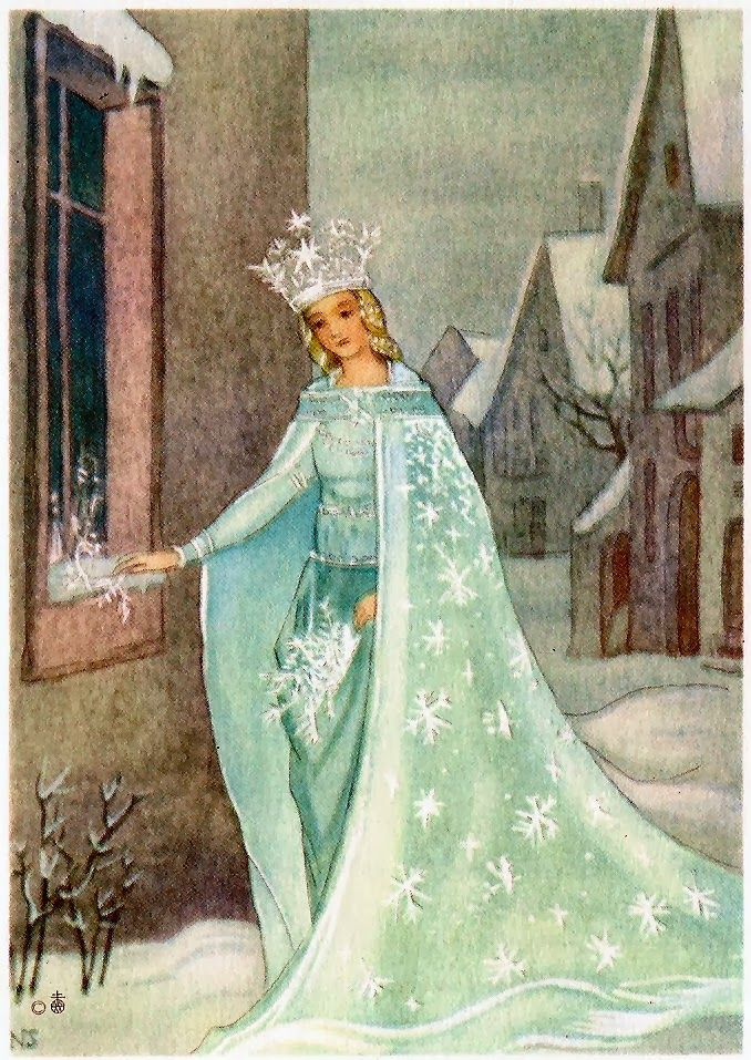 The Snow Queen by Hans Christian Anderson Illustration by Nora Scholly