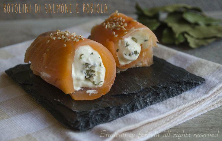Rotolini di salmone e robiola http://blog.giallozafferano.it/studentiaifornelli/rotolini-di-salmone-e-robiola-ricetta/