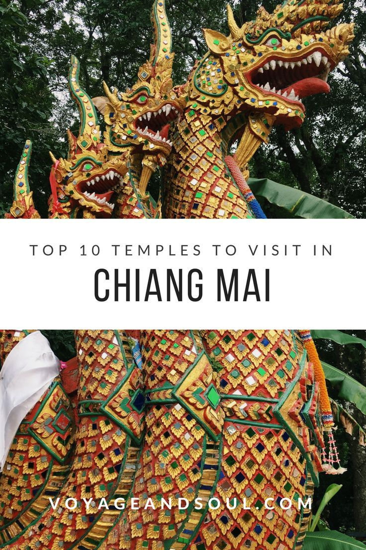 Top 10 Temples to Visit in Chiang Mai | voyageandsoul.com