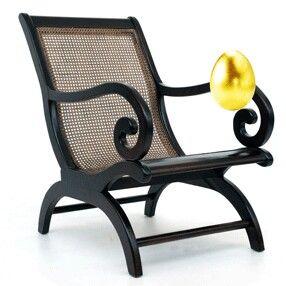 Bastawai wooden chair