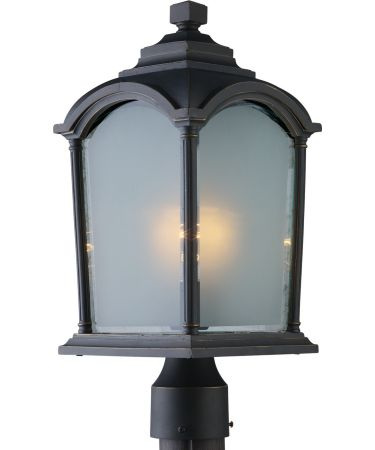 Artcraft AC8113 Hartford 1 Light Outdoor Post Lamp