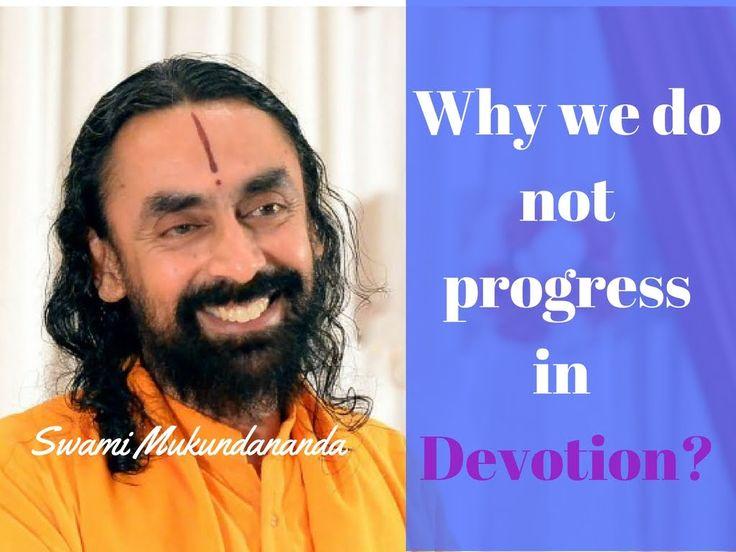 Why we do not progress in Devotion? | Ram-Katha-10 | Hindi | Swami Mukun...