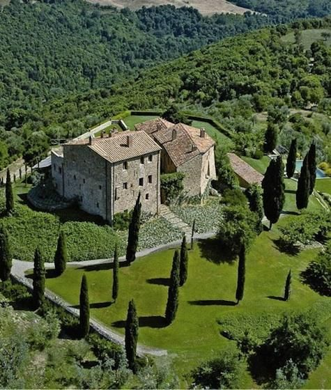 Castello di Vicarello, Tuscany. A small boutique hotel -- unbelievably gorgeous, inside & out.