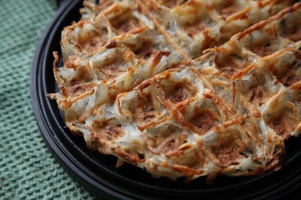 Hash Brown Waffles: I LOVE hash browns but really suck at making them so this is something I really have to try.