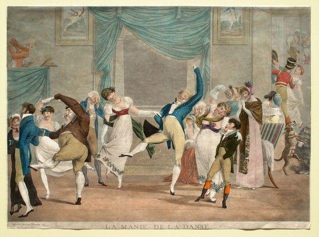 Philibert Louis Debucourt French, 1755–1832 La manie de la danse 1809