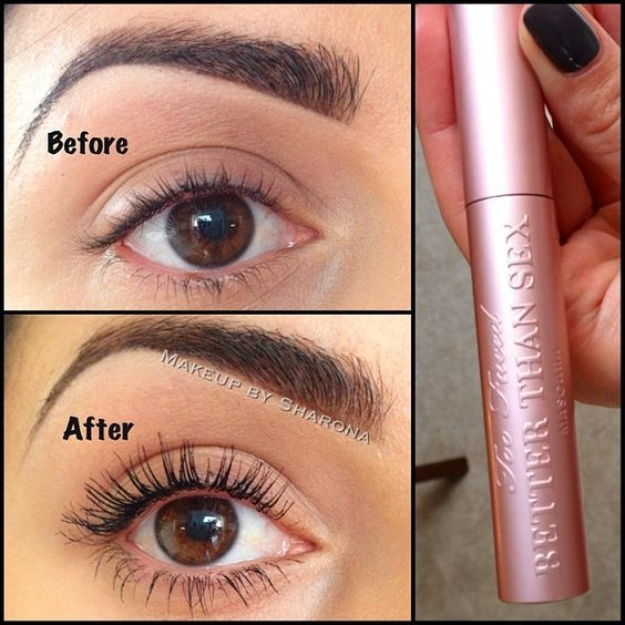 "Better Than Sex"" mascara by Too Faced.  On my Sephora TO DO list.:"