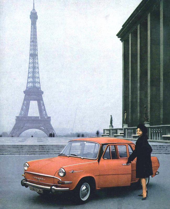 Skoda, Paris