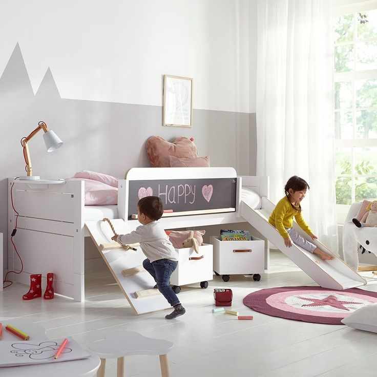 LIMITED EDITION PLAY, LEARN & SLEEP BED by Lifetime | Beautiful Children's Bed | Unique Kids Bed | Playtime Bed | Scandi Style Kids Bed