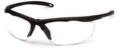 Venture Gear Zumbro Safety Glasses with Bronze Frame and Clear Anti-Fog Lens