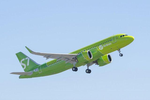 Транспортный блог Saroavto: Первый Airbus A320neo в России — в парке S7 Airlin...