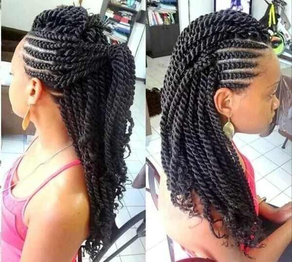 Adorable Braided Hair Styles For Older Black Women And Best Ideas Of Protective Hairstyles 7