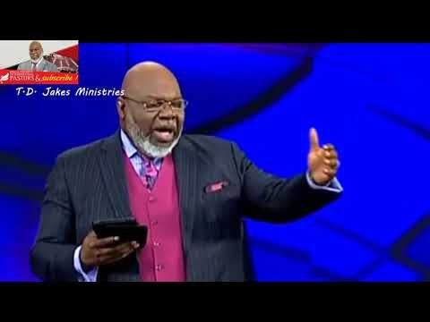 TD JAKES 2017 – All difficulties in life you look to God td jakes i am td jakes son td jakes run td jakes tithing td jakes and paula white…