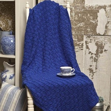 Checkerboard Knitting Pattern Blanket : 175 best images about Knit Afghans on Pinterest Free ...