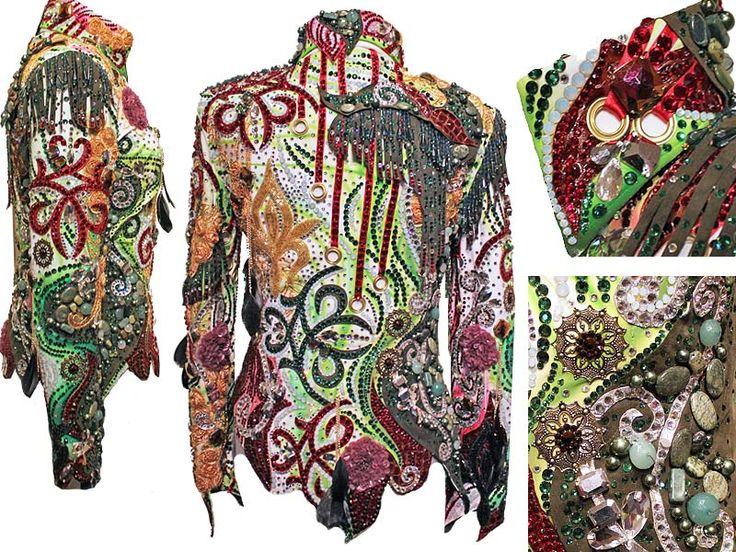 Piccola Rosa jacket via Showgirls Apparel