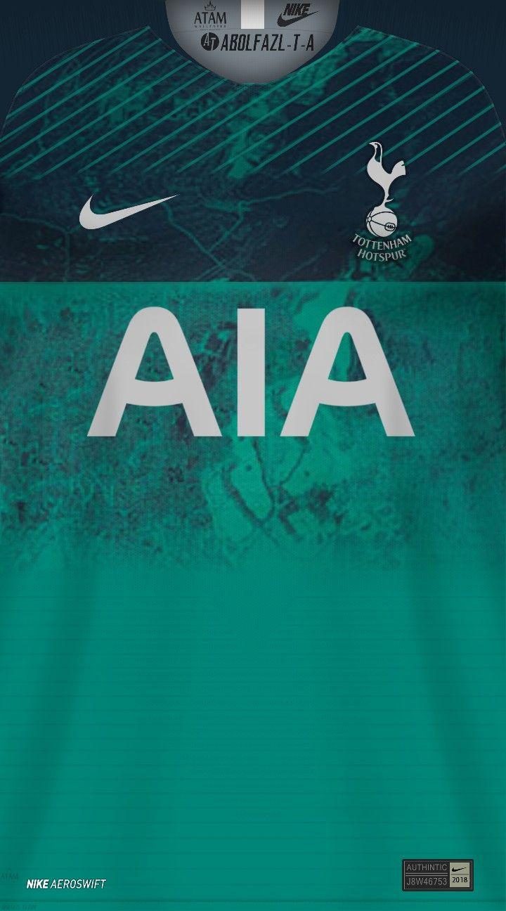 Tottenham Hotspur 3 Camisas De Futebol Parede De Futebol Camisa De Futebol