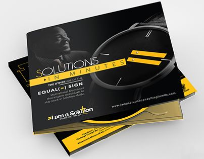 """CD Concept """"SOLUTIONS IN MINUTES"""" for I AM A SOLUTION"""